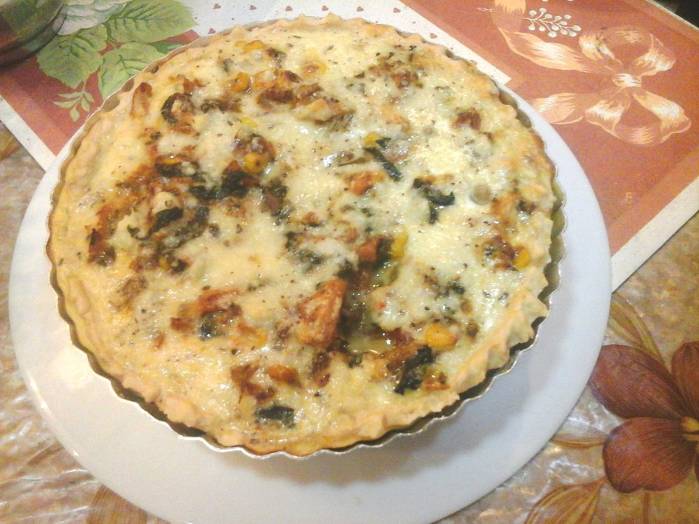 Home-made Quiche... Recipe to come soon