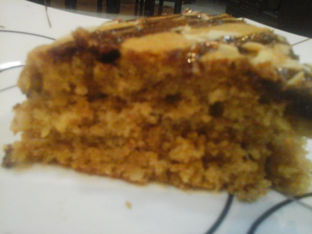 Enjoy a slice of Coffee Cinnamon Cake