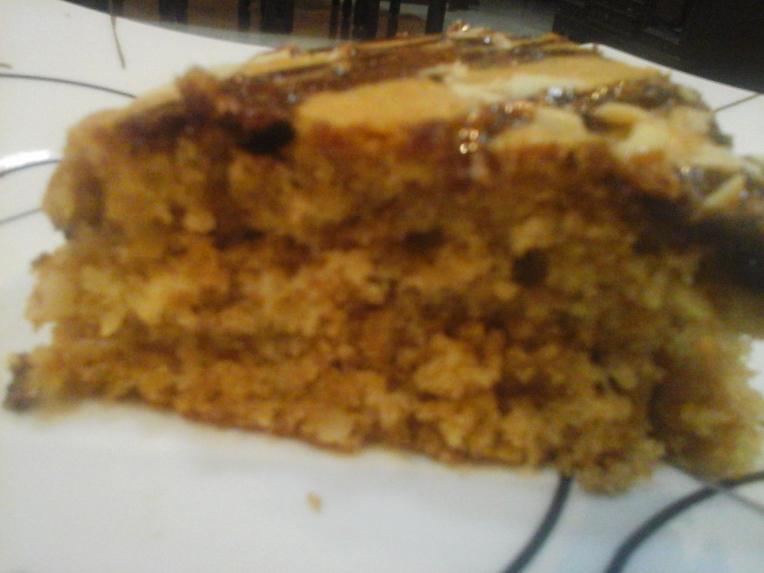 Enjoy a slice of Coffee Cinnamon Cake