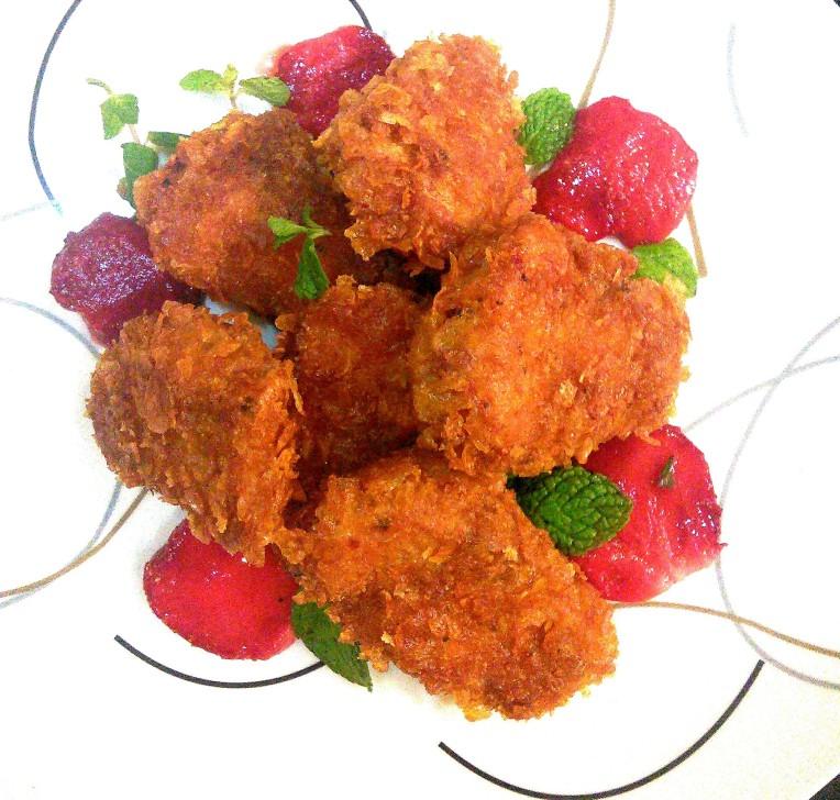 Crisp fried Fish Fillets