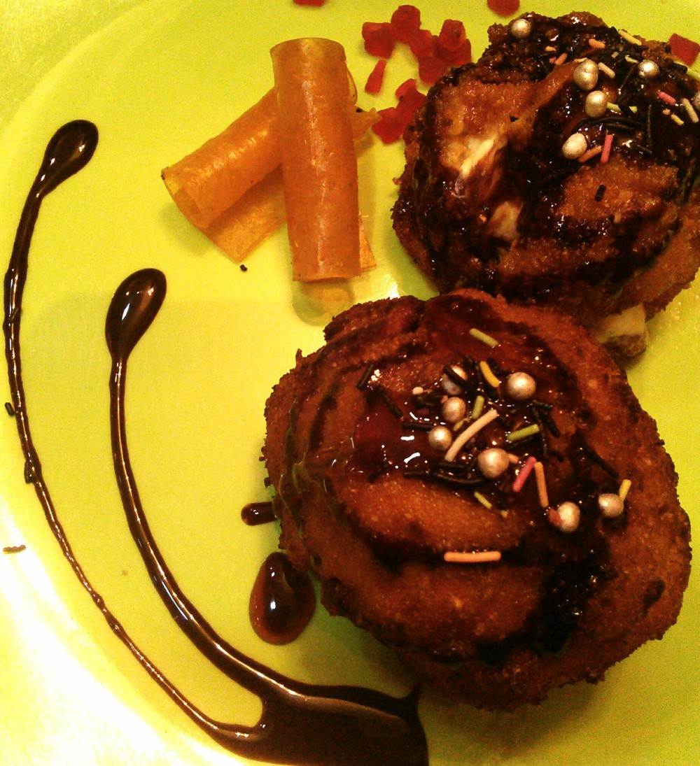 Fried Ice cream...