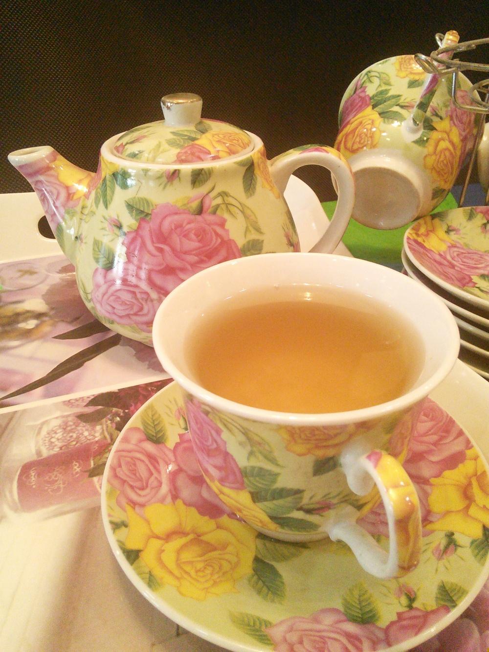 Green tea.... Tea is liquid peace, comfort, goodness and joy.