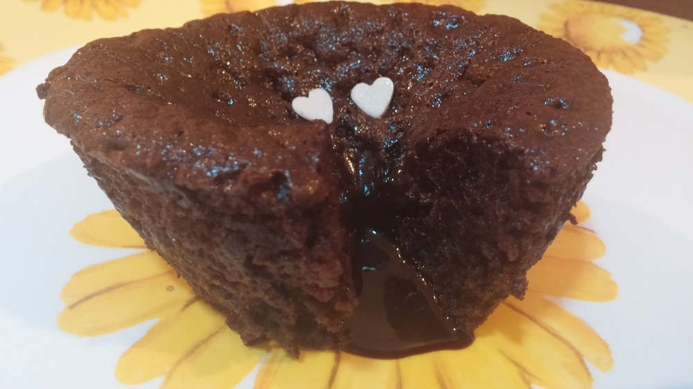 Warm hearted Choco lava Cake