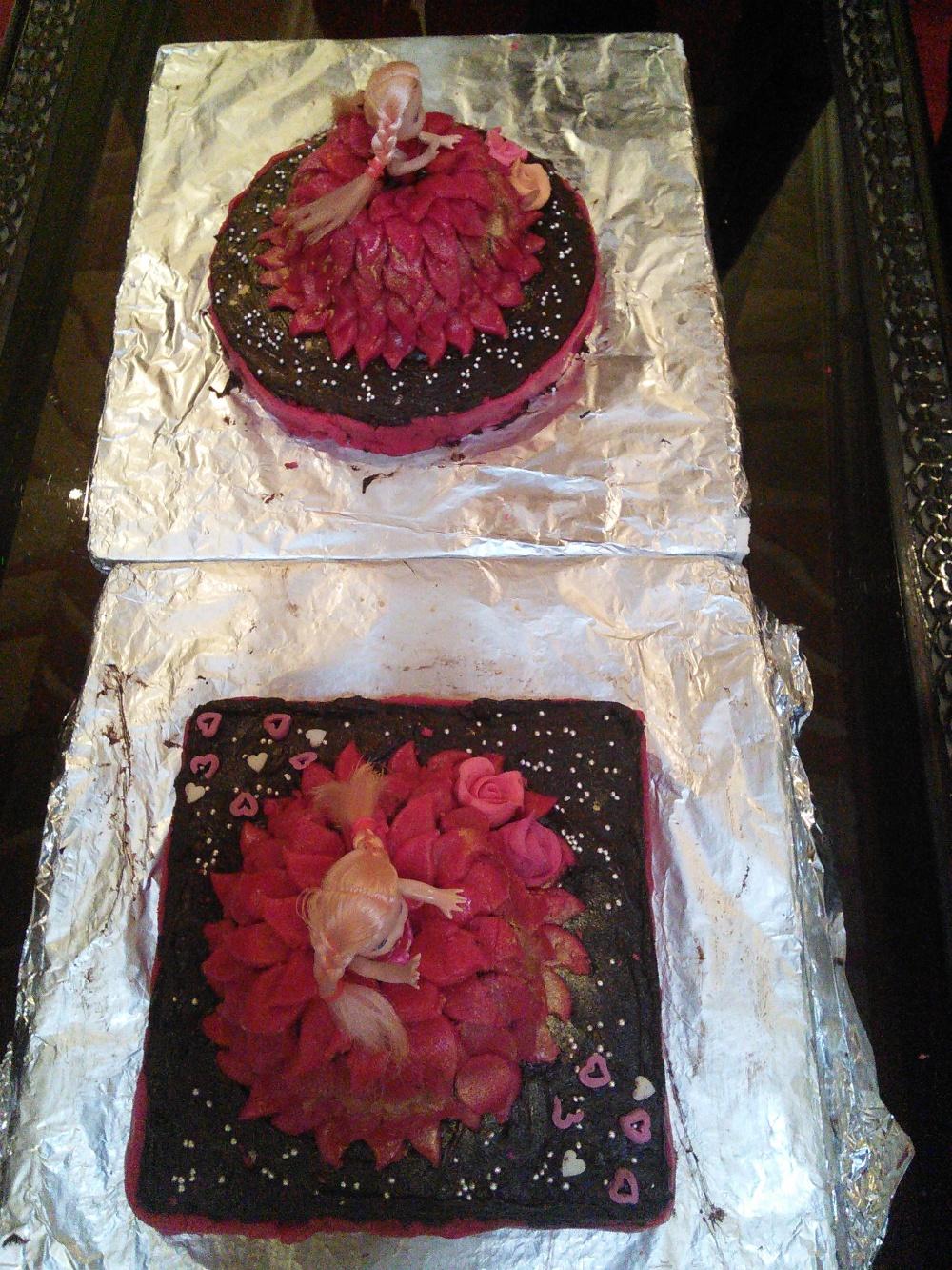 Princess' cakes