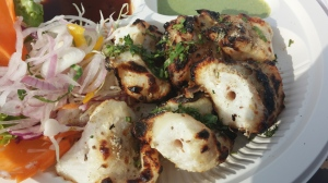 Fish grilled with bishops weed/carom seeds/ajwain