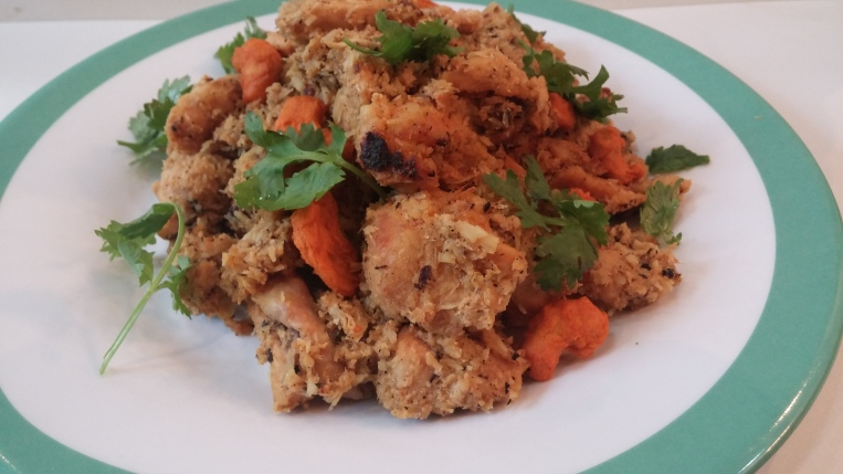 tender coconut and chicken