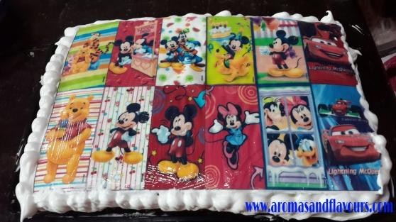 Disney Character Cake Toppers