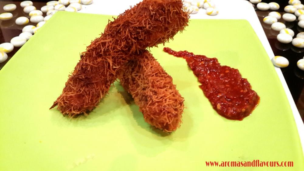 Kataifi or Vermicelli Chicken