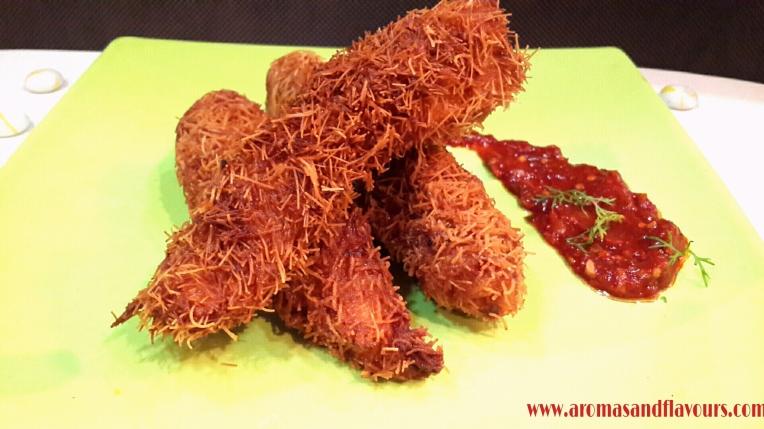 Kataifi chicken