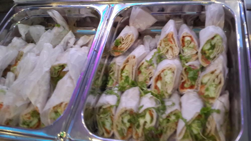 Paneer shawarma rolls