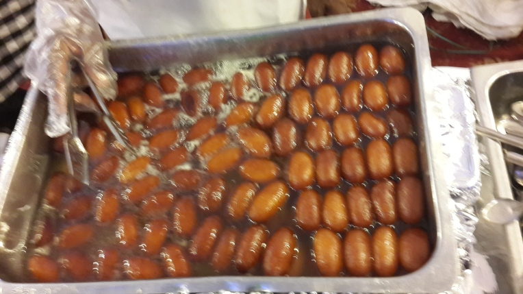 Indian sweet -Gulab jamun