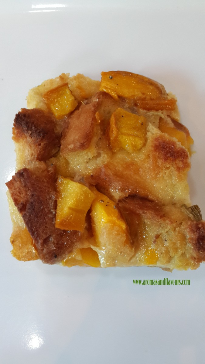 Mango bread pudding – Aromas and Flavors from my Kitchen
