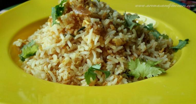 Keema fried rice