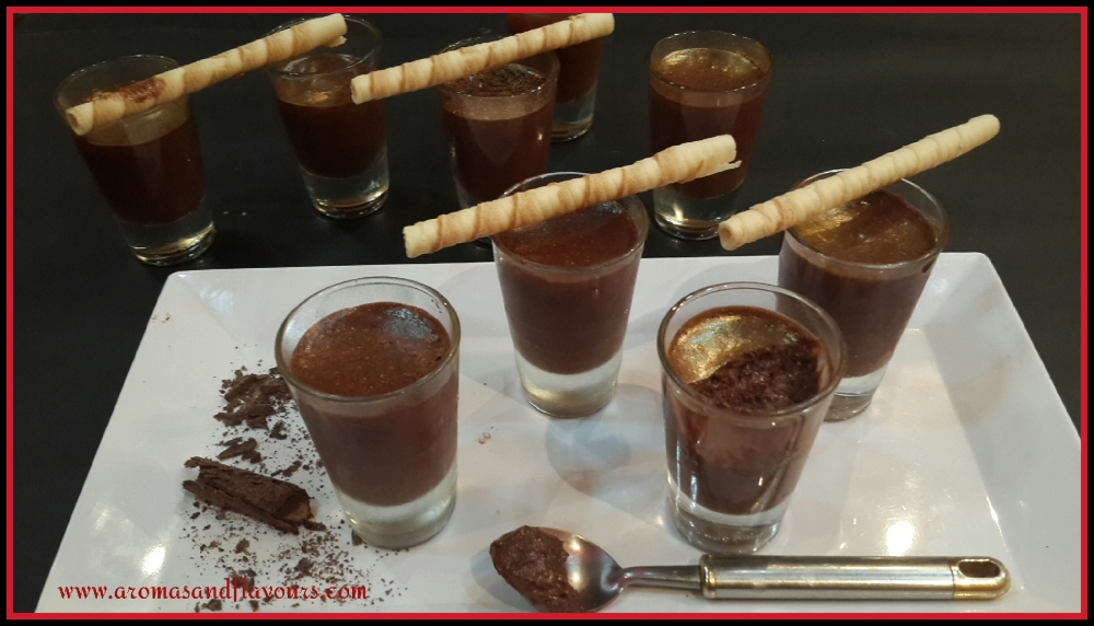 Party ready Chocolate Mousse..