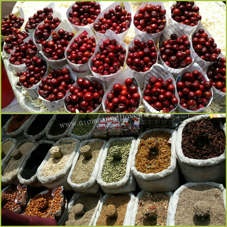 berries and spices