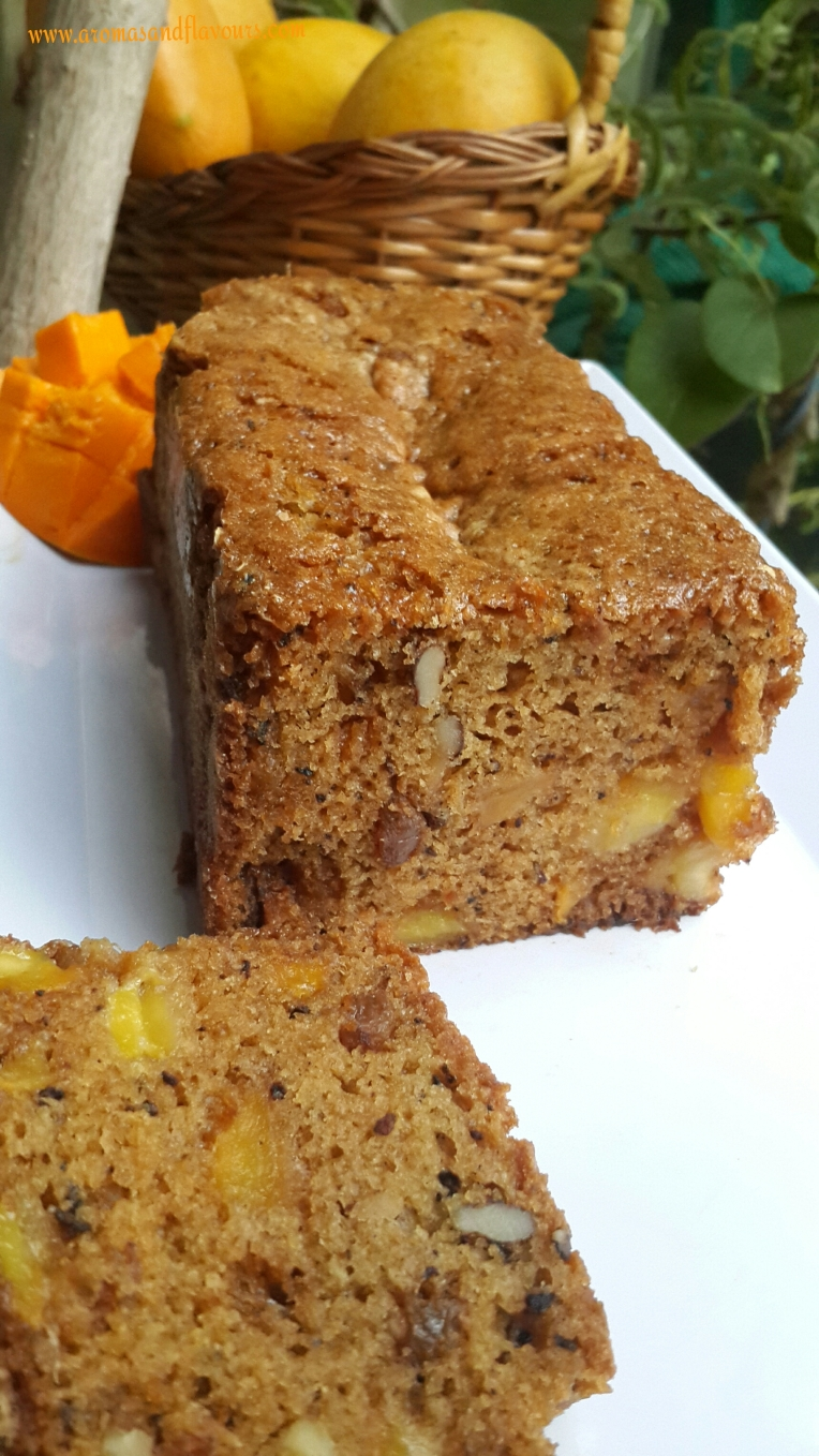 delicious mango bread