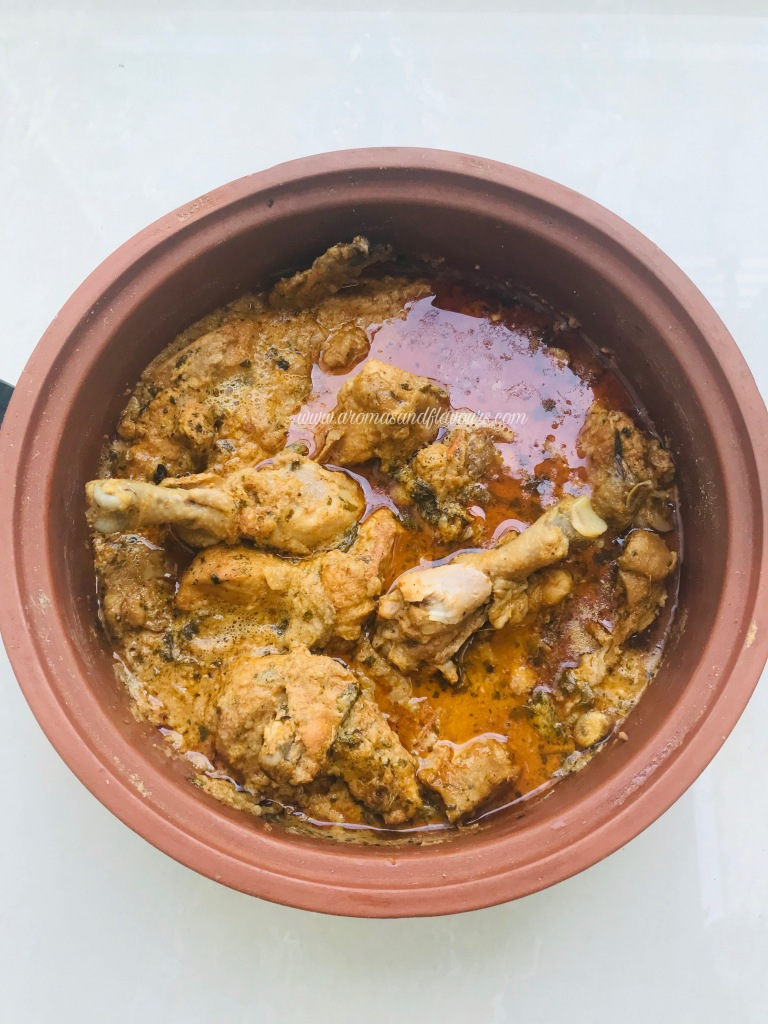 clay pot cooking chicken Chicken Korma – Magic of Clay pot Cooking – Aromas and Flavors